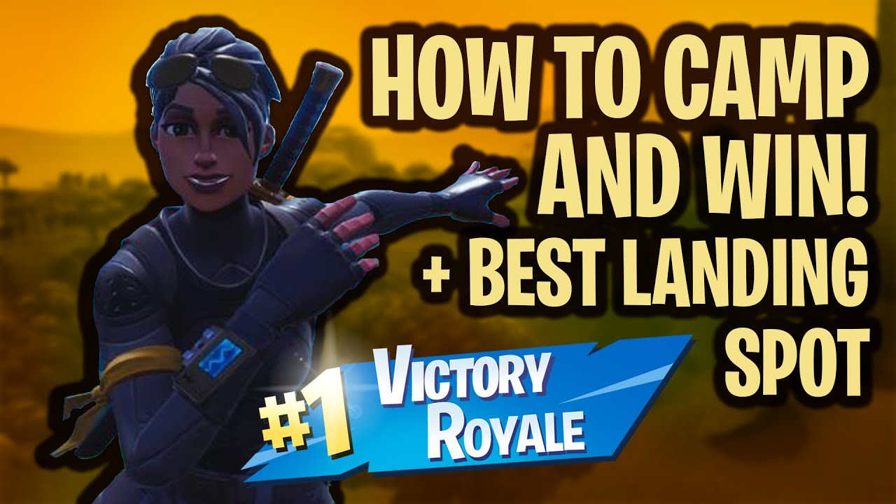 Download HOW TO WIN EVERY SOLO GAME IN SEASON 8!! (Camping Method)