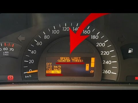 Mercedes Benz Sprinter >> How to remove or change speed limit on the Mercedes W203 ...