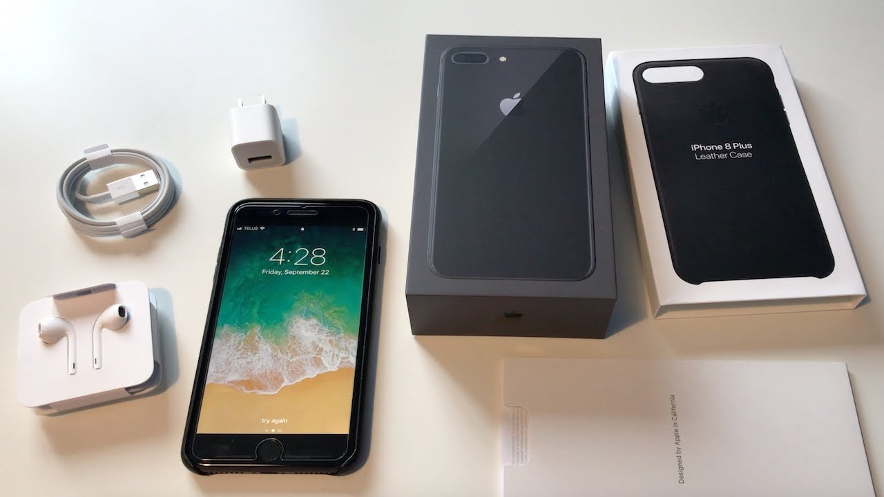 sports shoes 46d5f fcde9 iPhone 8 Plus Unboxing: Space Grey!