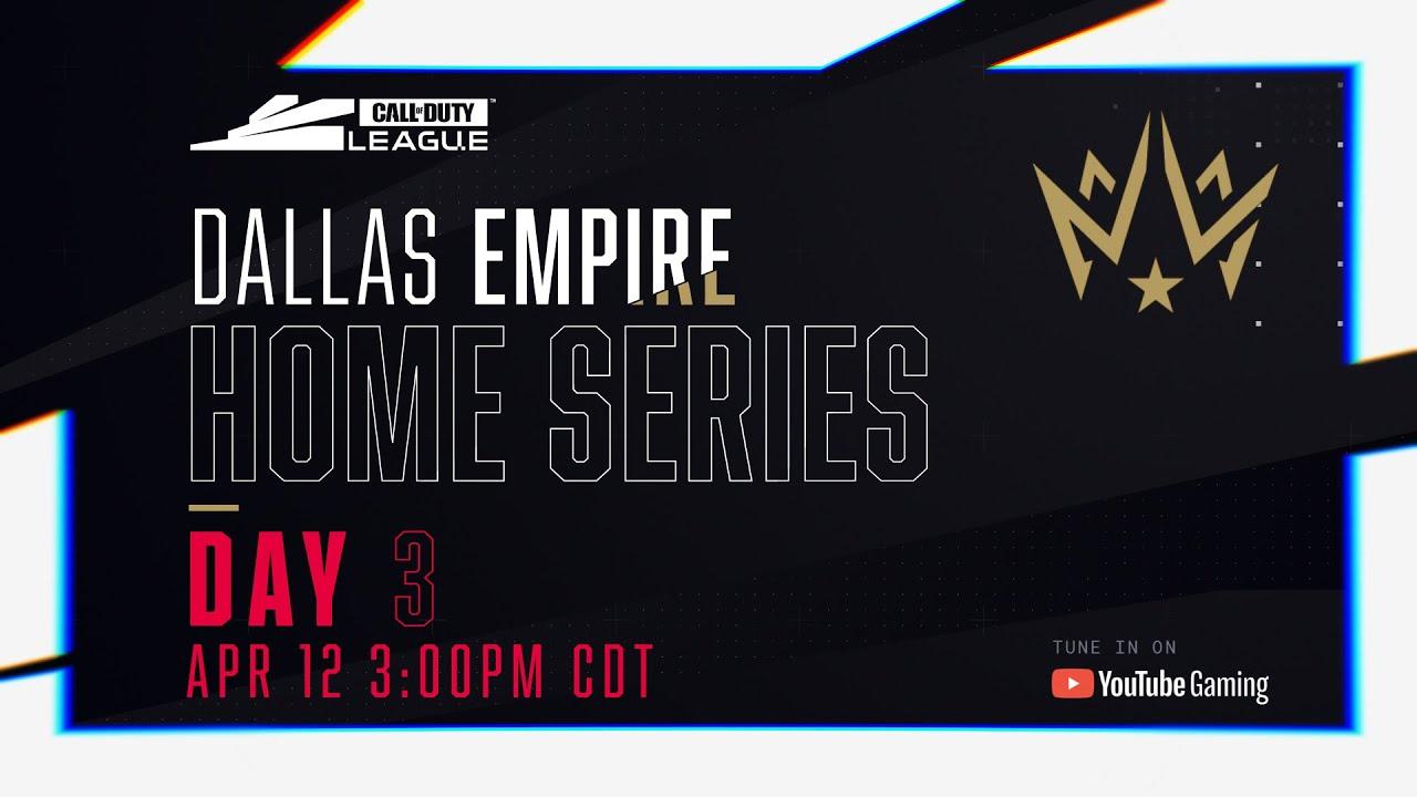 Call Of Duty League 2020 Season | Dallas Empire Home Series | Day 3