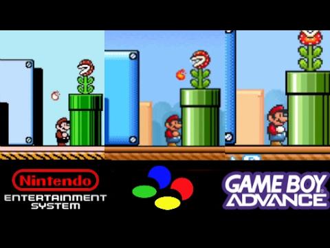 Super Mario Bros 3 Nes Vs Snes Vs Gba Super Mario Advance 4