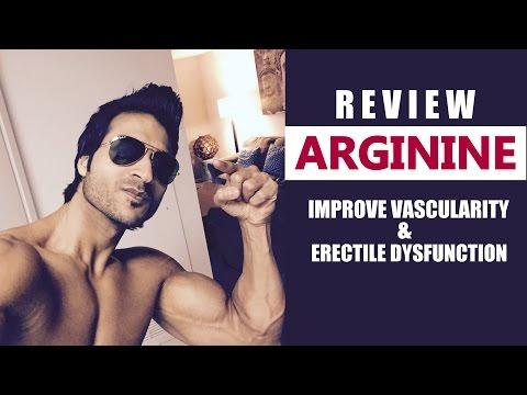 ARGININE   Improve Vascularity & Erectile Dysfunction   Full Review by Guru Mann