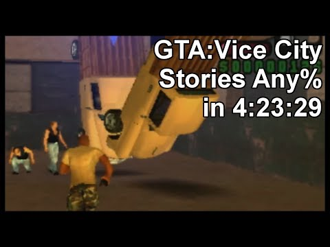 GTA: Vice City Stories Any% in 4:23:29