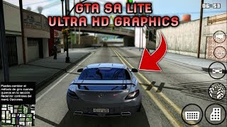 GRAFIKNYA GILA COY!! GTA SA LITE MOD ULTRA GRAPHIC & INSANITY TEXTURE | Support All Os Android