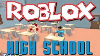 Hailey and Greg Play Roblox- High School!
