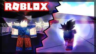Devenir Ultra Instinct Goku à Roblox ( Croix d'Anime 2 - France iBeMaine (en)