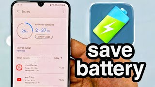 Most Useful tips for battery saving | Samsung One UI A50 A50s A30 A30s A70 A70s A80 S10 Note10 screenshot 5
