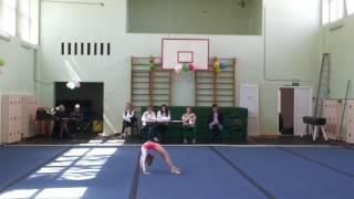 Третий юношеский разряд, акробатика