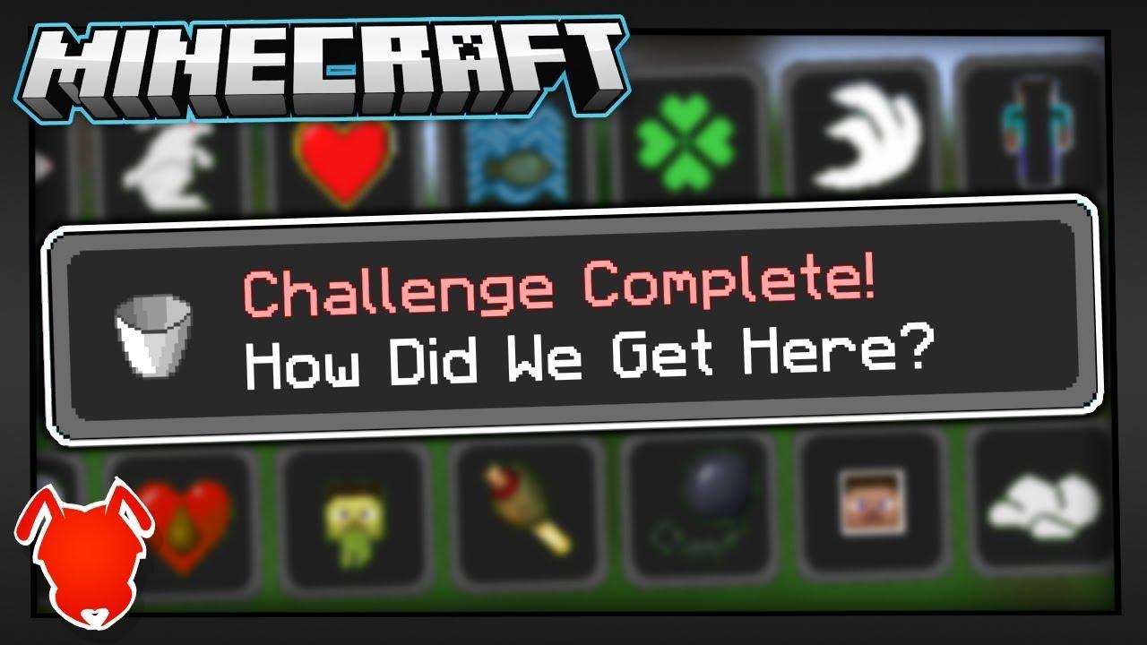 Minecraft Has A HIDDEN Achievement YouTube - Minecraft geheime hauser