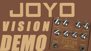 Joyo - Vision Dual Modulation - In-depth Demo (18 modulation effects in one pedal!)