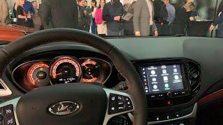 Рестайлинг Lada Vesta 2021 с Android, CarPlay и Яндекс с завода // Слушаем Enjoy pro лучший звук!