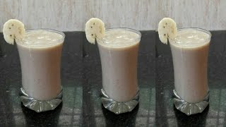 Banana Smoothie recipe in Tamil   Bannan Milkshake in Tamil