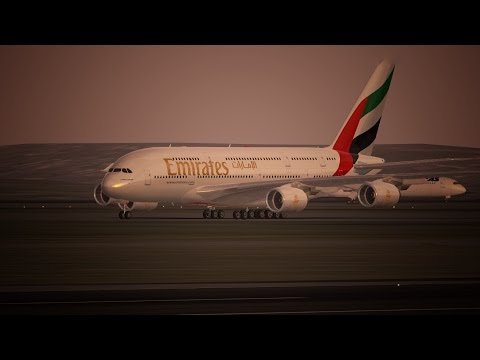 Infinite Flight Emirates livery Airbus A380 - 800 - YSSY - YSCB