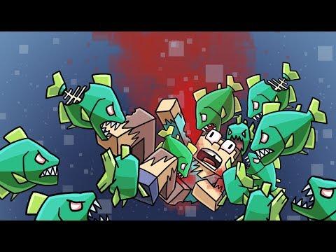 Minecraft | The Apocalypse - ESCAPE THE ZOMBIE FISH! #45