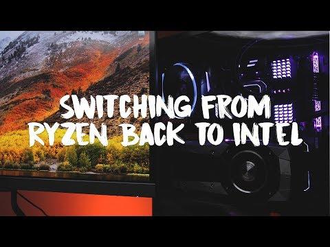 Switching from AMD Ryzen Back to Intel i7 - Adobe Premiere Editor