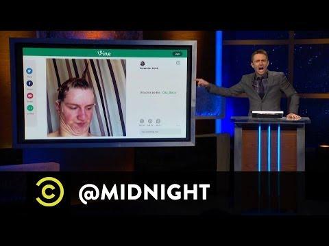 Jessica St. Clair, Lennon Parham, Rob Huebel  Vine Be Like  @midnight w Chris Hardwick