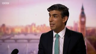 video: Rishi Sunak paves way for tax rises with warning of 'enormous' Covid toll on public finances
