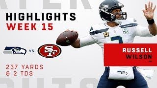 Russell Wilson's Double-TD Day vs. 49ers