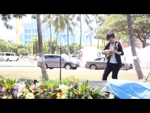Alvis 邱文輝Corrida 2016 8th Ukulele Picnic in Hawaii @ Kakaako Waterfront Park