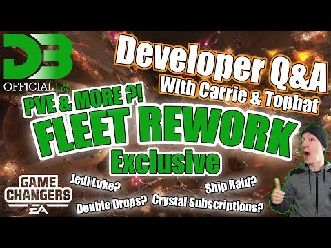 PvE Fleet Table & Rework!? Exclusive! Dev Q&A with CG Carrie and CG Tophat / SWGOH