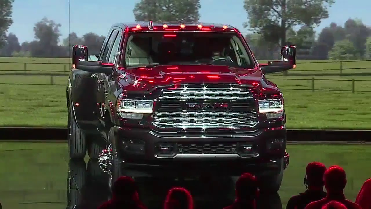Ram Unveils 2019 Heavy Duty At The North American International Auto Show
