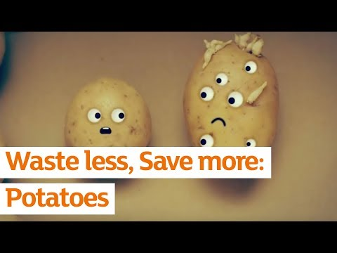 We cant take our eyes off these potatoes | Waste Less Save More | Sainsbury's