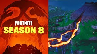 FORTNITE SEASON 8 // NEW MAP // NEW SKINS // FIRST LIVE GAMEPLAY