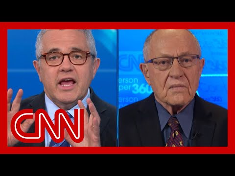 Toobin to Alan Dershowitz: What side are you on?