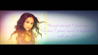 Alexis Jordan - Happiness Lyrics HD