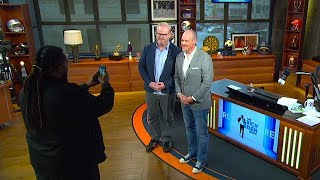 The Kevin Costner School of Proper Posing for Group Photos | The Rich Eisen Show | 8/28/19