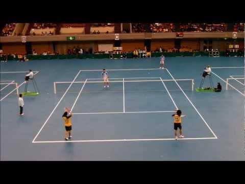 ソフトテニス社会人学生対抗2013 団体男子-5 鬼頭川村-林田巽