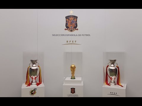 MUSEUM VISIT: The Spanish Football Museum - The History of Football in Spain and Their Thophies