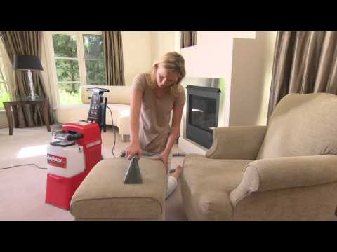 How To Connect The Upholstery Tool: