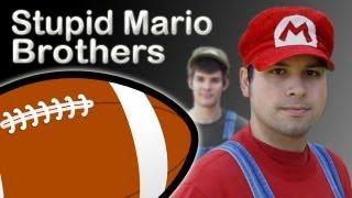 Stupid Mario Brothers - Football Trailer