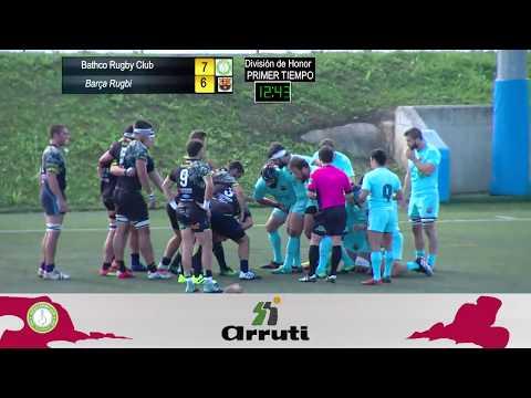Retransmisión Rugby Bathco vs FCB Rugby