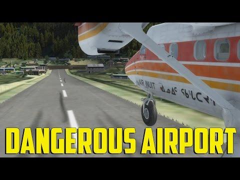 """Prepar3d - Dangerous Airport """"Lukla"""""""