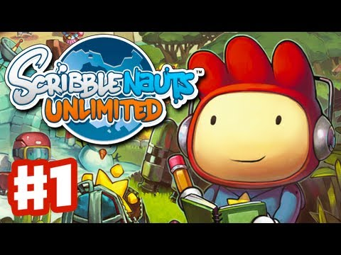 Scribblenauts Unlimited - Gameplay Walkthrough Part 1 - Funny Times in Capital City (PC, Wii U, 3DS)