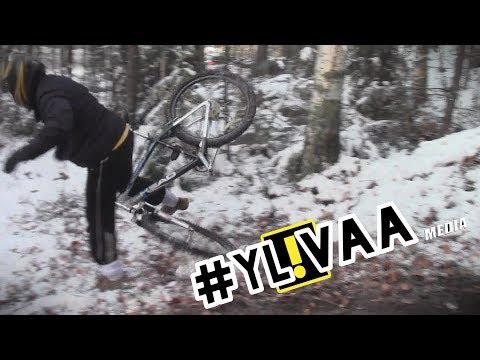 PDA Ralli 2013 | Finnish Bicycle Rally | SS1 Crash Corner [YL!VAA Media]