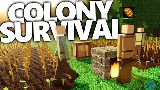 THE COLONY SHALL THRIVE!!! | Colony Survival Gameplay #1