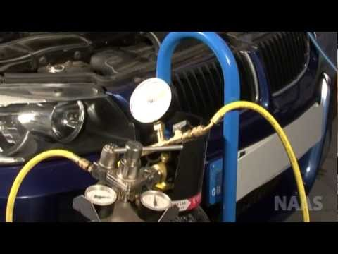 Diagram Of Nitrogen How To Use Ofn Kit For Car Ac Pressure Testing Youtube