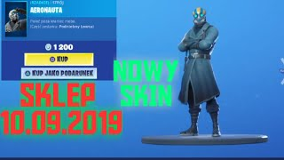 New Skin, shop Fortnite-September 10, 2019
