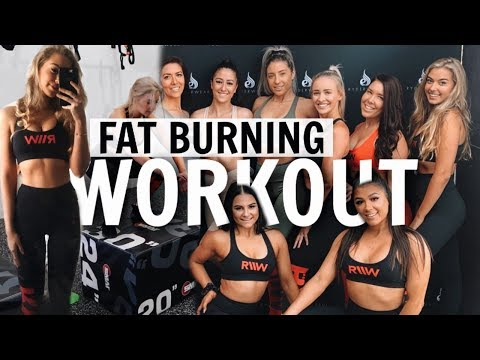 OVERCOMING BODY INSECURITIES | Full Body Fat Burning Workout // Fitness Event With Ryderwear!