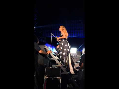Beyonce Lift Off Ending Close On The Run Tour Rose Bowl 2014 Live
