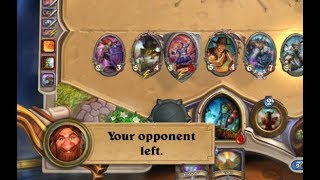 [Hearthstone] This Noggenfogger evolve was to much for this mage (uncut 2x speed)