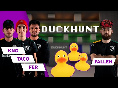 MIBR Play CS:GO Duck Hunt | Ft. FalleN, KNg, Fer And TACO