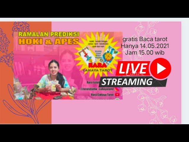 Gratis Baca Tarot Live Streaming Hanya Jam 15,30 Menit Saja