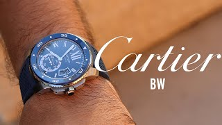 The Elegant Calibre de Cartier Diver