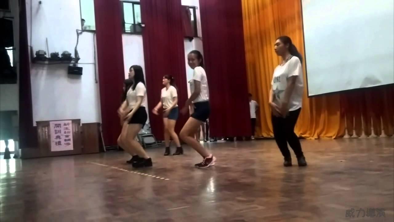 2015.08.26(三)龍潭高中MV舞蹈社 新生訓練 - YouTube