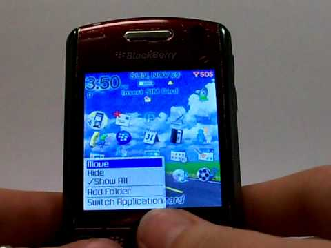 Blackberry Pearl 8110 Erase Cell Phone Info - Delete Data - Master Clear Hard Reset
