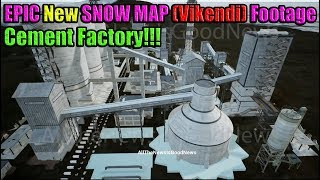 NEW Snow Map (Vikendi) Footage From CEMENT FACTORY - Coming to PUBG Mobile 2019? (Not Official)